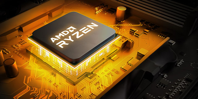 AMD Ryzen5thgen  Gold