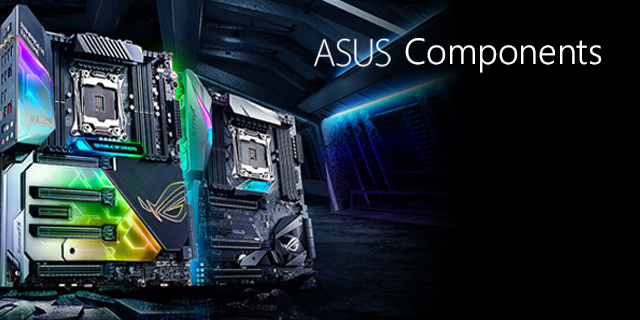 Asus  Components Page Banner