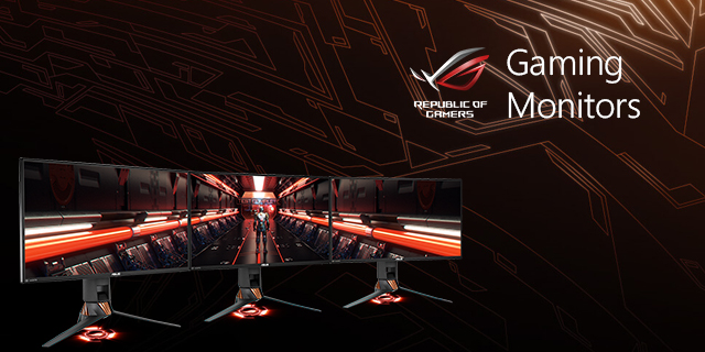 Asus  Gamingmonitors Top Banner