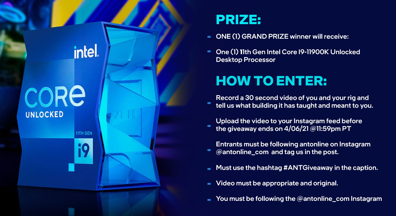 Intel 11thgen Contest 03.30.2021how