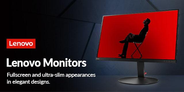 Lenovo Monitors 02.21banner1