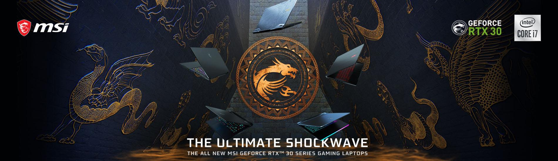 MSI Gaminglaptops 30series 01.25.banner
