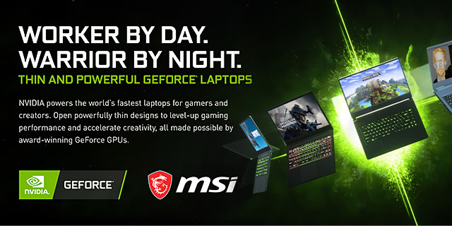 MSI General Refresh  Geforce