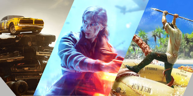 PS Plus Titles For May Banner