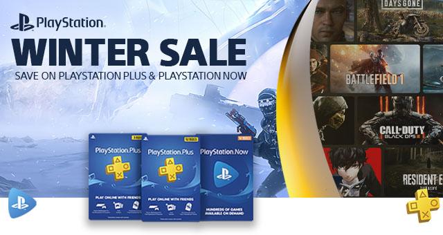 Sony Playstation Digital Card Deals Banner3 Winter