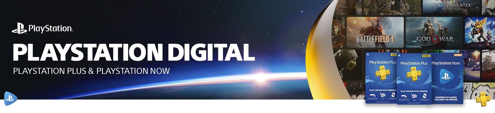 Sony Playstation Digital Card Deals Genericbanner