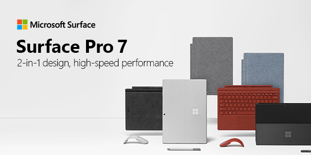 Surface Pro 7 Refresh 03.04.2021banner