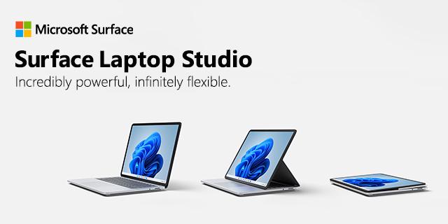 Surface Laptop Studio 9.22.21banner