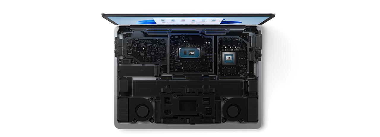 Surface Laptop Studio 9.22.21inside