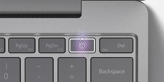 SurfaceLaptopGo  Finger