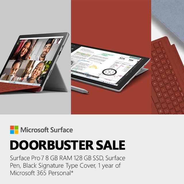 Surfacepro7 Doorbuster  Banner