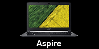 Acer Lap Nav Black Tile Aspire