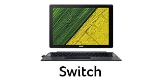 Acer Lap Nav Tile Switch