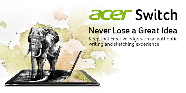 Acer Switch General Top Ban