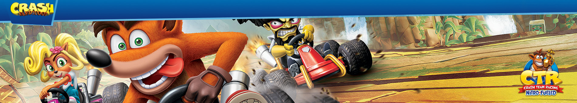 Activision Crash Nitro Racing  Banner 01