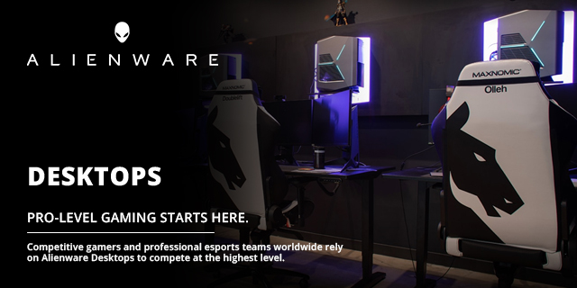 Alienware Destops Top Banner