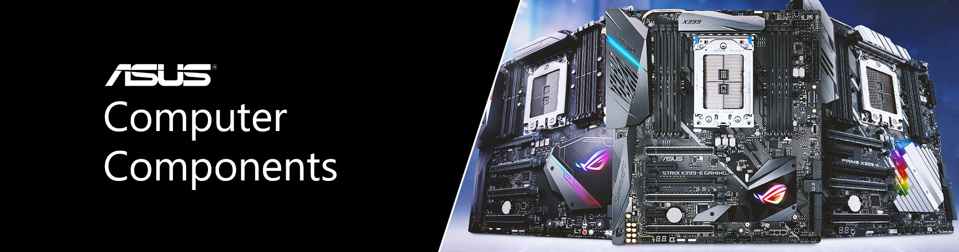 Asus Store Components Top Banner