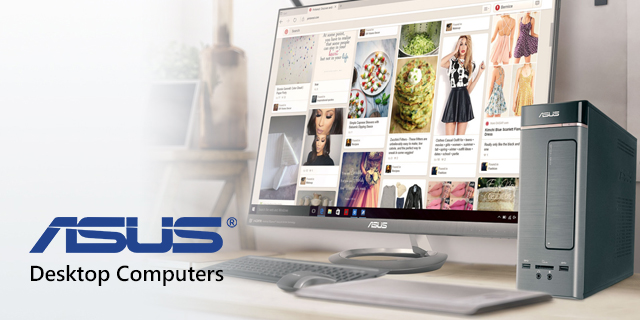Asus Store Desktops Top Banner