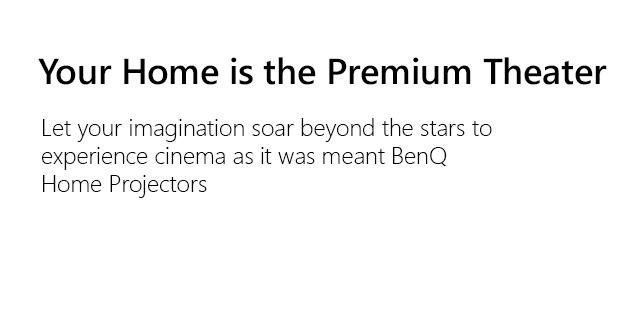 Benq Generic Projectors Slug2W