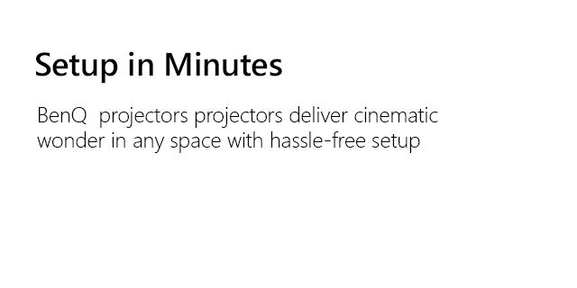 Benq Generic Projectors Slug3W