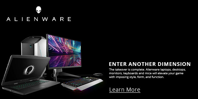 Dell Alienware Gaming Landing Page Edits  Feature 01