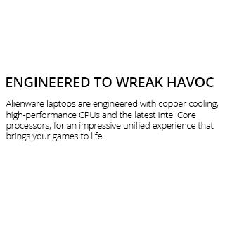 Dell Alienware Main Lap Slug1W