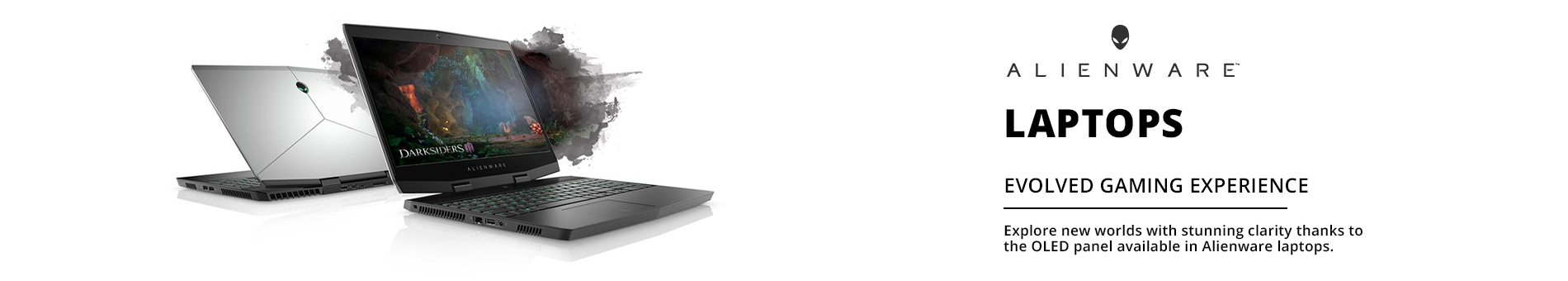 Dell Alienware Notebooks Landing Page Edits  Banner 01