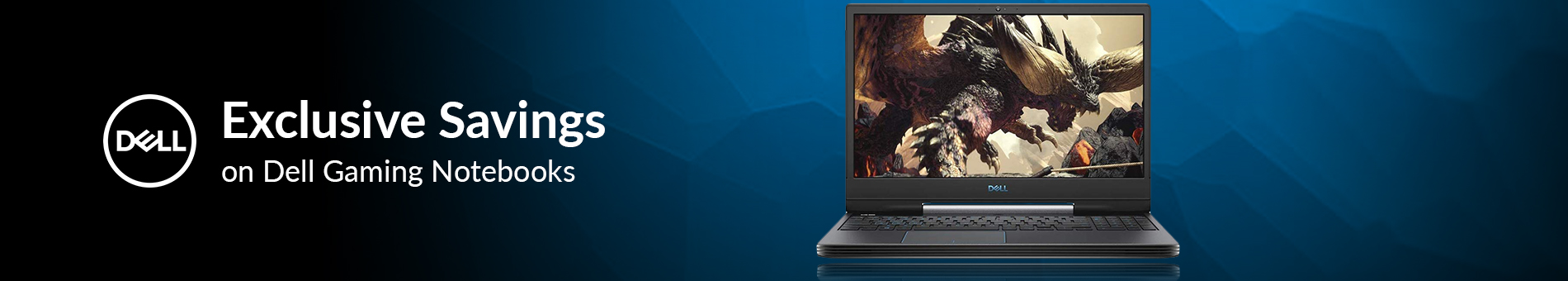 Dell Gaming Notebooks Exclusive Savings  Banner 01