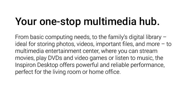 Dell Home Desktops Landing Page Revamp  Dell Home Desktops Inspiron Feat2