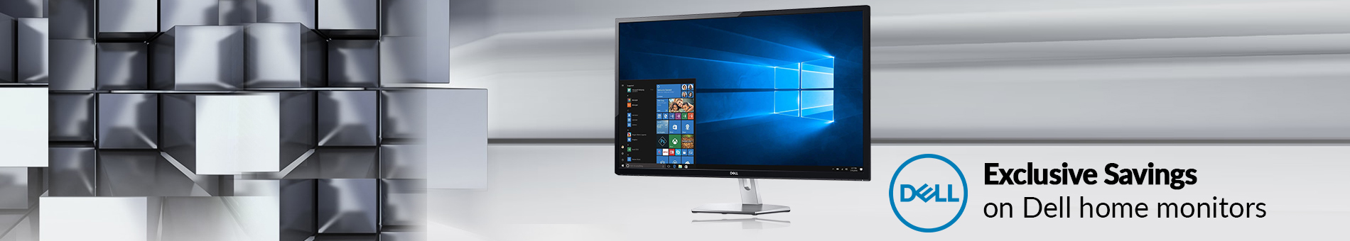 Dell Home Monitors Exclusive Savings  Banner 01