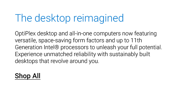 Dell Work Desktops Landing Page Revamp  Dell Work Desktops Optiplex Feat2