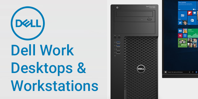 Dell Work Landing Page Revamp Dell For Work Desktops Banner