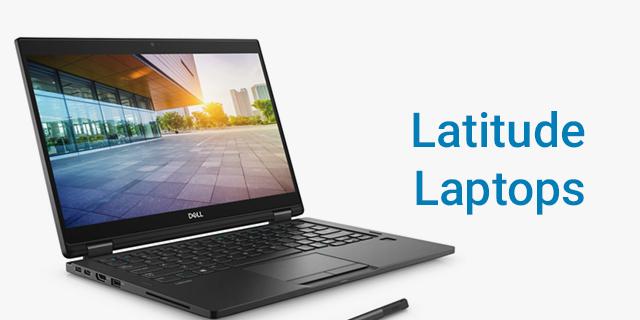 Dell Work Laptops Landing Page Revamp  Dell Work Laptops Latitude Banner
