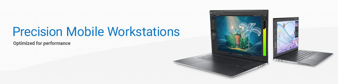 Dell Work Laptops Landing Page Revamp  Dell Work Laptops Precision Banner