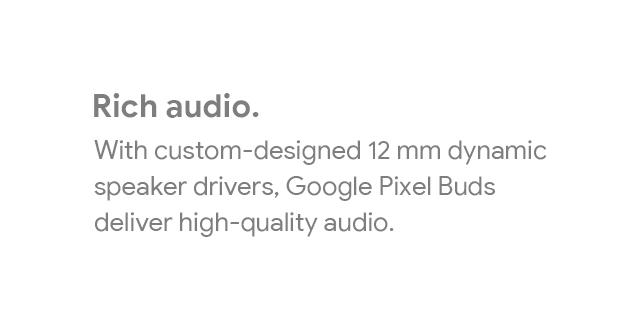 Google Pixel Buds Landing Page   Tile 03