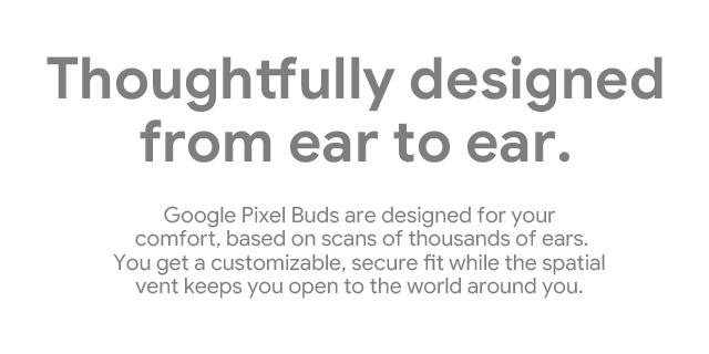 Google Pixel Buds Landing Page   Tile 05