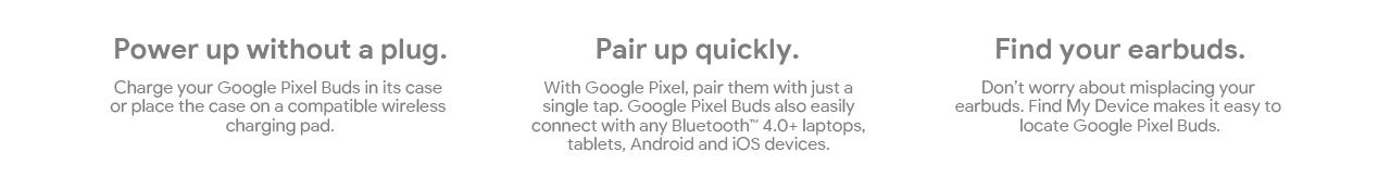 Google Pixel Buds Landing Page   Tile 15
