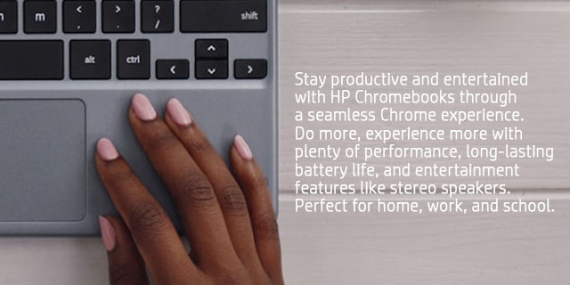 Hp Chromebook Promo Banner Addition