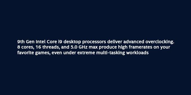 Intel Processors 9th Gen Black Friday Holidays Landing Page   Tile 07