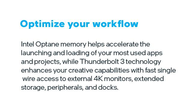 Intel Refresh Tilesworkflow