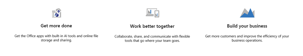 Microsoft Microsoft Landing Page Products4 Icons1