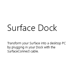 Microsoft Surf Acc 2018store DockW