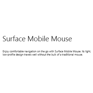 Microsoft Surf Acc 2018store Surf Mobile MseW