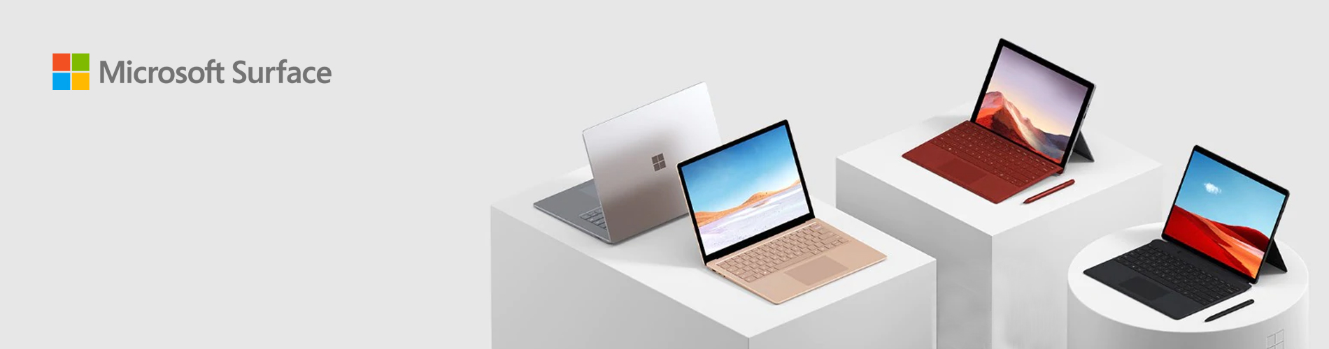 Microsoft Surface Landing Page New Update  Tile 01