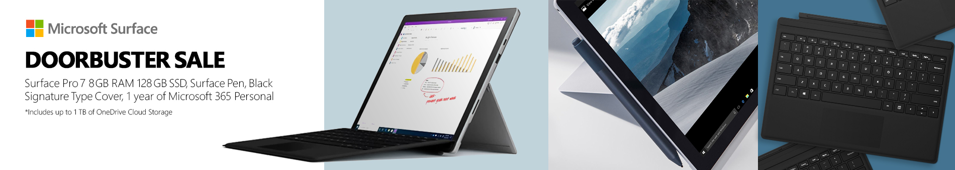 Microsoft Surface Pro7 Doorbuster 07.21.21banner