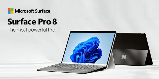 Microsoft Surface Pro8 LP 09.22.2021banner
