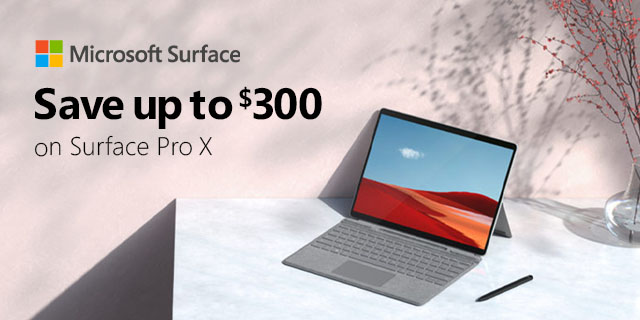 Microsoft Surface Prox Save300 04.02.2021 Banner 01
