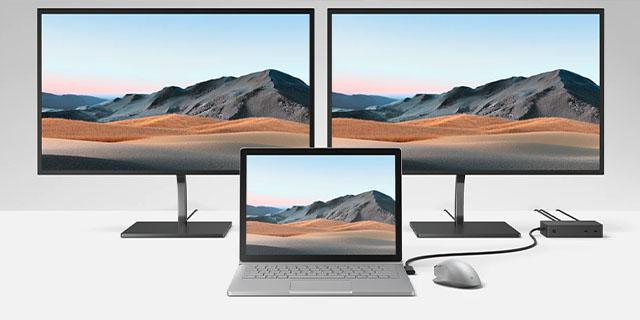 Microsoft Surface Studio 2 Landing Page Dockmonitor Tile