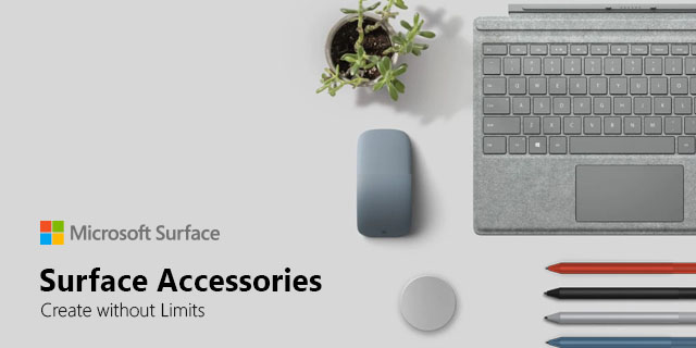 Microsoft Surface Accessories General  Banner 01