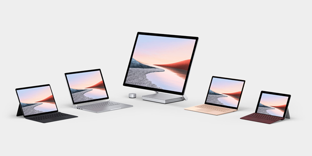 Microsoft Surface Family Landing Page   Tile 01